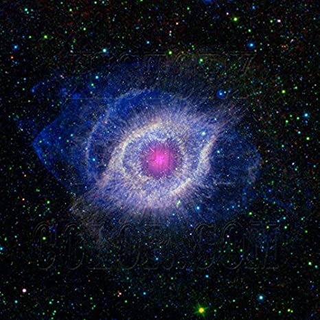 History In Full Color The Helix Nebula Unraveling At The Seams Ngc 7293 Spitzer Hubble Telescope Space Photograph Posters Prints