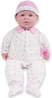 Caucasian 20-inch Large Soft Body Baby Doll | JC Toys - La Baby | Washable |Removable Pink Outfit w/ Hat and Pacifier | Fo...