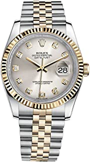 gold and silver rolex datejust