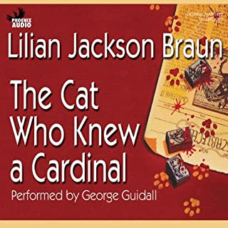 The Cat Who Knew a Cardinal cover art