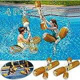 Broccoli Deportes de Agua 4 unids/Set Piscina Flotadores para Adultos Agua Deportivo Juguete Piscina Flotador Paseo Piscina Inflable