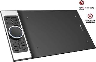 XP-PEN Deco Pro_S Tableta Gráfica de Dibujo Profesional con Lápiz Pasivo de 8192 Niveles a La Presión 9 x 5 Pulgadas con 8...