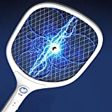 Bug Fly Mosquito eléctrico Zapper 1200mA USB Batería electrónica insectos matamoscas con linterna LED Mata insectos y bichos interior y al aire libre creatov