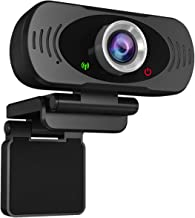 YoLuke 1080p Full HD USB Webcam with Built-in Microphone,Plug and Play Live Streaming Web Computer Camera for PC Video Con...