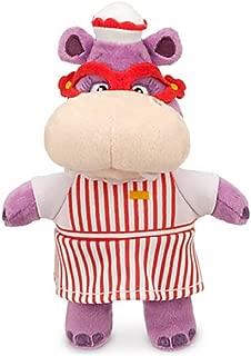 Disney Jr Doc McStuffins 8'' Hallie Hippo Bean Bag Plush Doll