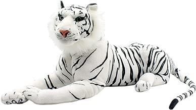 TAGLN Large Stuffed Animals Tiger Toys Plush Big 18 Inch white LARGE-LYING