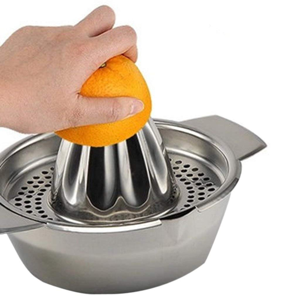 Exprimidor de limón – Exprimidor manual de acero inoxidable con ...