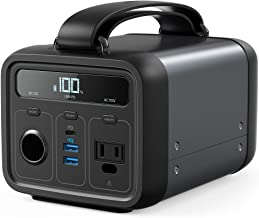 Anker Powerhouse 200, 213Wh/57600mAh Portable Rechargeable Generator Clean & Silent 110V AC Outlet/USB-C Power Delivery/US...
