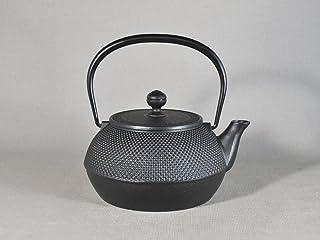 南部鉄器 鉄瓶 7型アラレ 黒焼付 11960