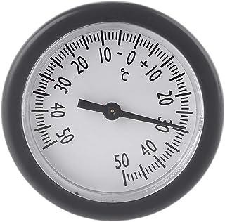 YUZI Scatola da Pesca Termometro, Mini Termometro Pesca Deposito Bagagli Box 38mm Embedded Misuratore di Temperatura Monit...