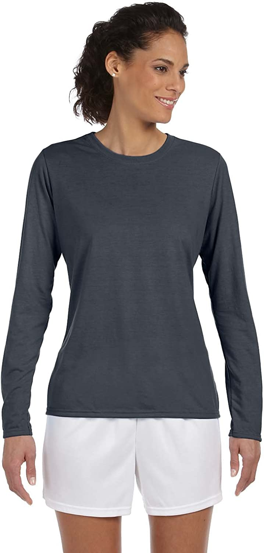 Gildan Womens Performance LongSleeve TShirt G424L (Pack of 12)