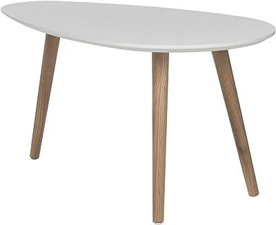 Tavolino Rotondo Sostenuto Da Un Treppiedi.Songmics Tavolino Rotondo Tavolino Moderno Minimalista Set
