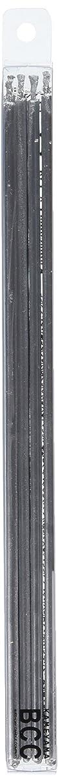 ハント五月毛細血管18cmスリムキャンドル 「 シルバー 」 10本入り 10箱セット 72361833SI