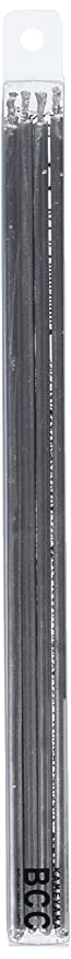 未満必要条件先住民18cmスリムキャンドル 「 シルバー 」 10本入り 10箱セット 72361833SI