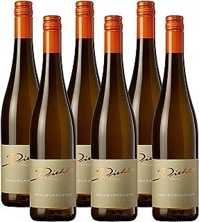 Weingut Diehl Grauburgunder – Trockener Weißwein aus der Wein-Region Pfalz 6 x 0,75l