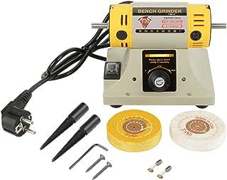 Máquina pulidora 220V 350W Amoladora eléctrica Máquina pulidora para joyería Torno dental Motor para pulir y pulir Enchufe de la UE