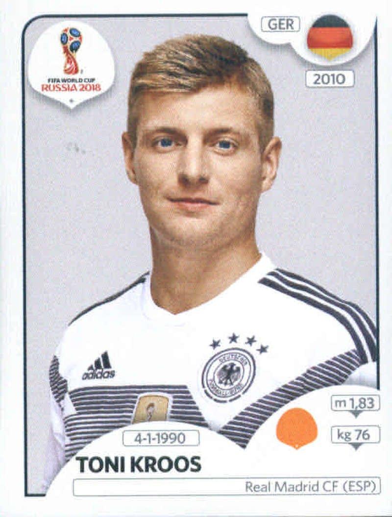World Cup Stickers Russia WTD - Adhesivo decorativo para Copa del Mundo (autoadhesivo), diseño de Rusia 2018 Panini 441 Toni Kroos Alemania: Amazon.es: Deportes y aire libre