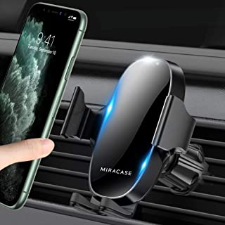 【2020 Upgraded】 Miracase Car Phone Mount, Air Vent Cell Phone Holder for Car, Universal Car Phone Holder Cradle Compatible...
