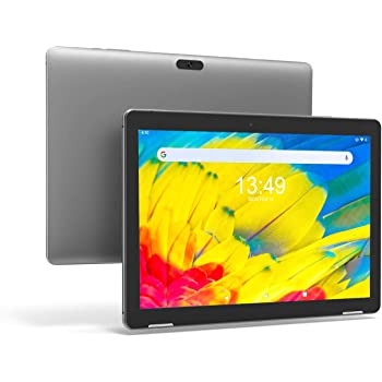 Tablet 10 Pulgadas Android 9.0 PC - Winnovo T10 Tablets Quad Core MT8163 3GB RAM 32GB ROM HD IPS 1280x800 2.0MP+5.0MP Cámara WiFi Bluetooth HDMI GPS FM (Gris): Amazon.es: Informática