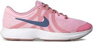 Revolution 4 GS - 943306602 - Color: White-Blue-Pink - Size: 4.5 Big Kid