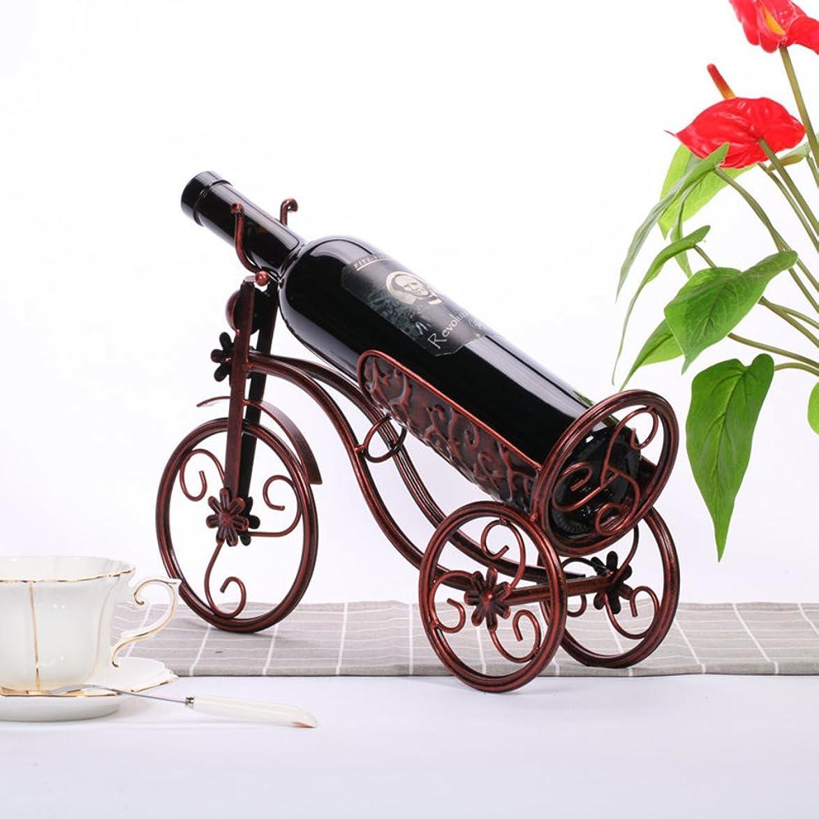 干渉する浴モンゴメリーYBDXMM キャリッジ ワインボトル ホルダー 鉄] な クリエイティブ スタイリッシュ 装飾] ワイン棚 家計] 装飾 装飾 バー ワインの表示 スタンド プレゼント シニア ワイン ラック-ブロンズ