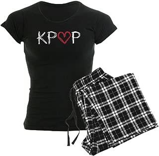 CafePress Kpop Love Scribble Women's Dark Women's PJs