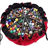 SIQUK Large Dice Bag with Pockets Big...
