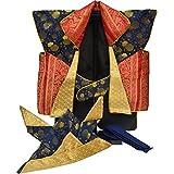 【即日発送可能】五月陣羽織No.6 兜 鉢巻付 五月人形 祝い着 祝着 鎧飾り 兜飾り kabuto yoroi