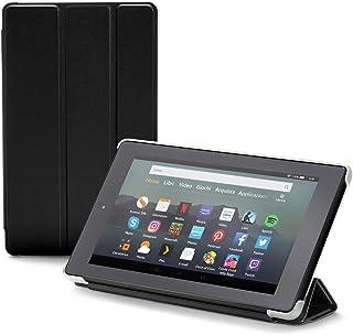 Nupro Custodia pieghevole con supporto integrato per tablet Fire 7, colore: nero