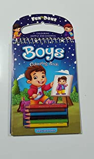 Fun By Done Coloring Book Boys