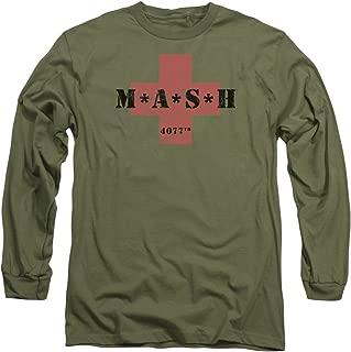 Mash Mash Cross L S Adult 18 1 Military Green