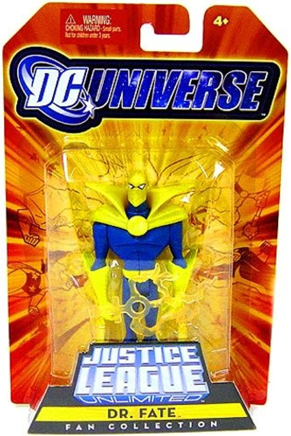 JLA - DC UNIVERSE - Super Heroes - Justice League Unlimited - Fan Collection - DR. FATE - 4  inch scale   ca. 11cm - OVP