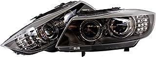 BMW 3 Series E90 E91 2008-2011 Facelift Bi Xenon Headlights Front Lamps PAIR OEM