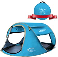 Best ZOMAKE Pop Up Tent 3 4 Person, Beach Tent Sun Shelter for Baby with UV Protection - Automatic and Instant Setup Tent for Family Review