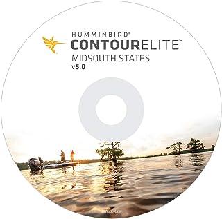 Humminbird 600010-5 Humminbird 600010-5 Contour Elite Mapping Software - MidSouth States V5 (Inicio MAR 2019) Software par...