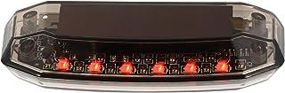 FAVOMOTO Sistema de segurança solar de alarme de carro com luz de LED para roubo de aviso, lâmpada piscante