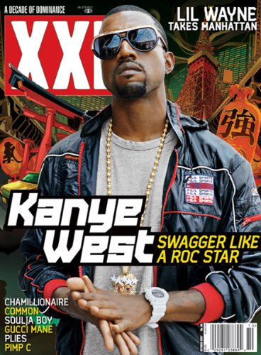 XXL Magazine (Oct 2007) - Kanye West (Swagger Like a Roc Star)
