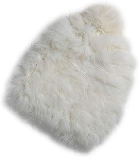 d2517d9fc5c78 Hats Women s Winter Hats Knitting Rabbit Fur Caps Skullies Beanies Women Hat  Solid Colors Cap
