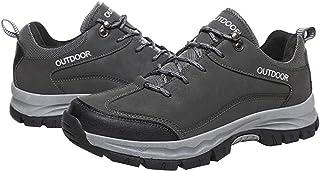 Clenp Zapatos De Senderismo, 1 Par De Hombres Zapatos De Senderismo De Invierno Zapatos Deportivos Al Aire Libr-e Antidesl...