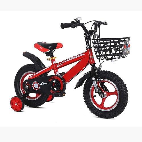 Hay más marcas de productos de alta calidad. YUMEIGE Bicicletas Infantiles Bicicletas para Niños, Bicicleta para Niños Niños Niños 12 14 16 18   Pulgada Ciclismo para Niños y niñas Adecuado para Niños de 2 a 6 años, azul, amarillo y rojo Disponible  salida