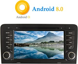 Foof 9 Pouces Android 9.1 Tableau De Voiture pour Audi A3 8P 2003-2012 S3 2006-2012 RS3 Radio St/ér/éo GPS Navigation WiFi FM BT