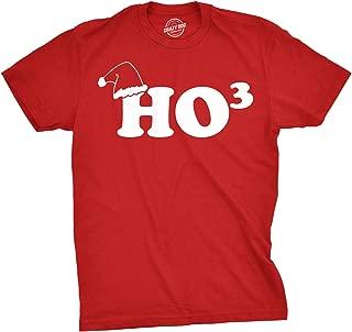 Ho to The Third Ugly Funny Christmas T Shirt Hohoho Holiday Xmas Graphic Tees