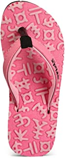 Frestol Pink Flip-Flops and House Slippers Kid's