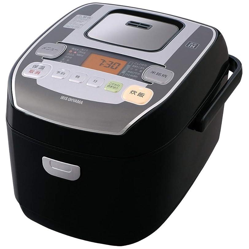 嫌がる寓話文アイリスオーヤマ 炊飯器 圧力IH式 5.5合 銘柄炊き分け機能付き 米屋の旨み RC-PA50-B