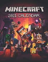 Minecraft 2021 Calendar: Fantastic Calendar For Kids - Size 8.5x 11 inches