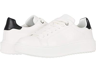 Steve Madden Catcher Sneaker (White/Black) Women