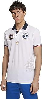 La Martina Men's Pmp326 Polo Shirt
