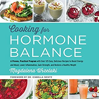 Cooking for Hormone Balance audiobook cover art