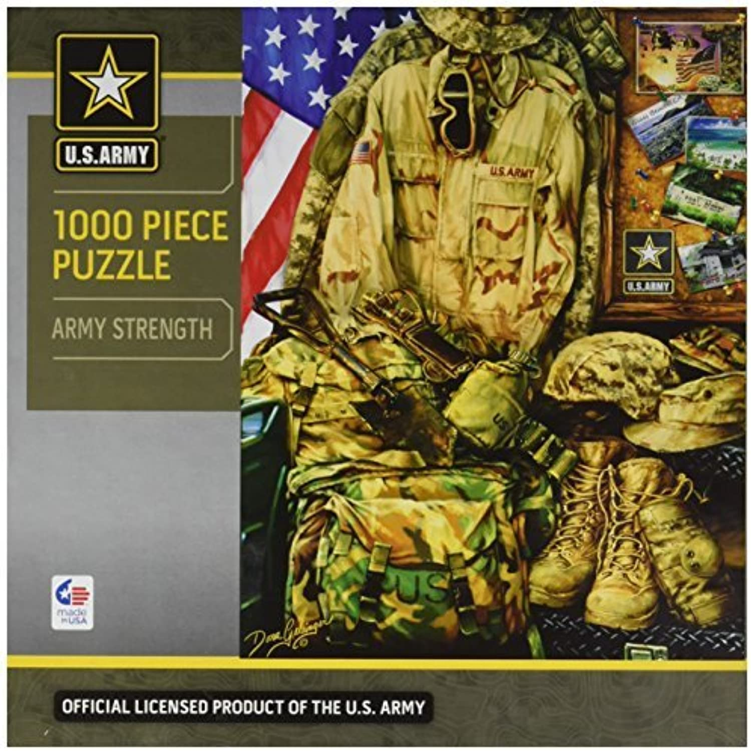 Masterpieces Army Strong Hometown Heroes Jigsaw Puzzle (1000Piece) by MasterPieces