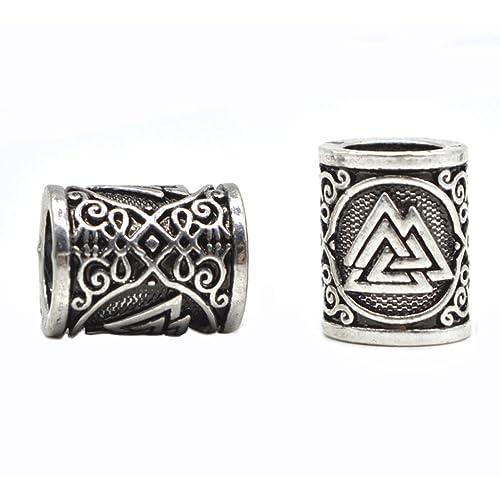 Pagan/ Symbolic 24 Style Norse Viking Rune Beads Jewelry
